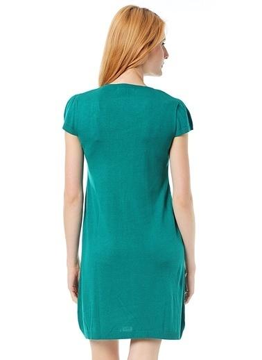 Limon Company Kısa Kollu Elbise Yeşil